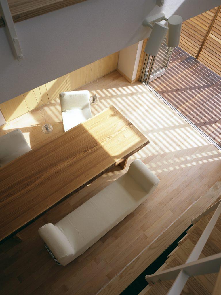 木製ルーバー 遮光